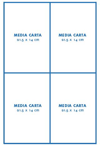 Media carta